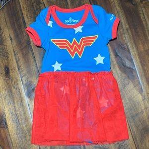 Wonder Woman body suit